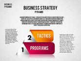 Business Pyramid Diagram#7