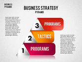 Business Pyramid Diagram#8