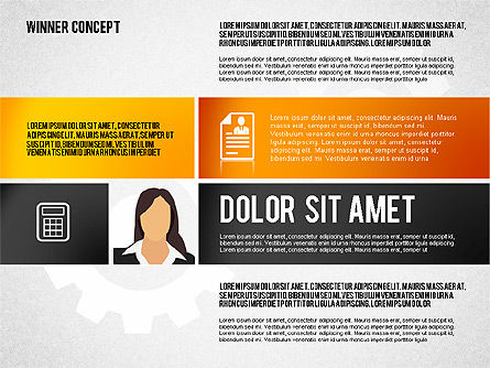 Winning Concept Presentation, Slide 7, 01860, Presentation Templates — PoweredTemplate.com