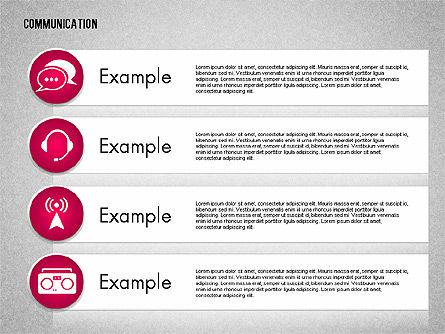 Communication and Media Icons, Slide 13, 01862, Icons — PoweredTemplate.com