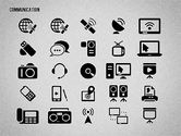 Communication and Media Icons#16