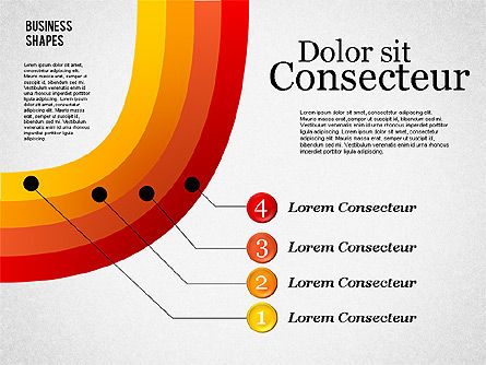 Shapes: Presentation Shapes Set #01863