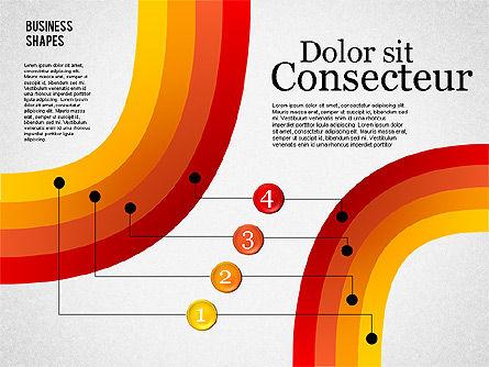 Presentation Shapes Set, Slide 2, 01863, Shapes — PoweredTemplate.com