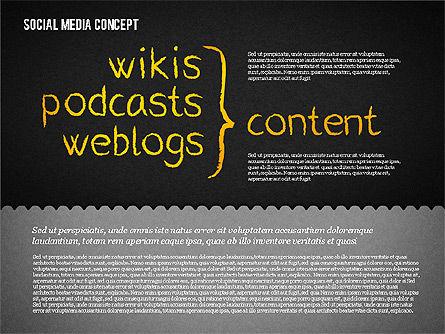 Social Media Presentation Concept, Slide 15, 01867, Presentation Templates — PoweredTemplate.com