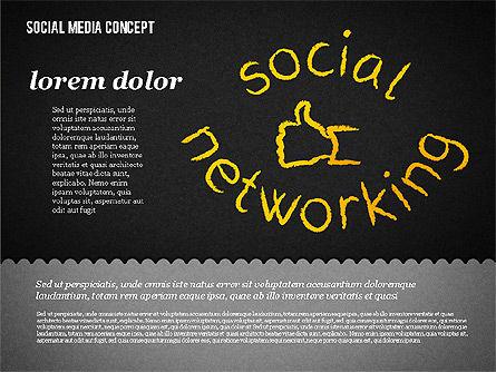 Social Media Presentation Concept, Slide 17, 01867, Presentation Templates — PoweredTemplate.com
