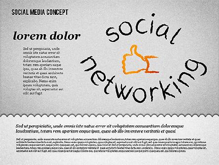 Social Media Presentation Concept, Slide 7, 01867, Presentation Templates — PoweredTemplate.com