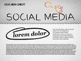Presentation Templates: Social Media Presentation Concept #01867