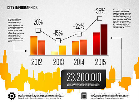 Presentation Templates: 城市演示图表 #01868