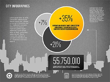 City Presentation Infographics, Slide 11, 01868, Presentation Templates — PoweredTemplate.com