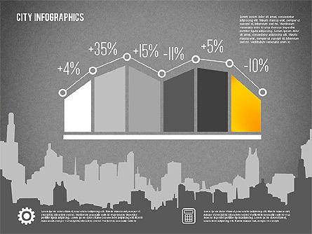City Presentation Infographics, Slide 12, 01868, Presentation Templates — PoweredTemplate.com