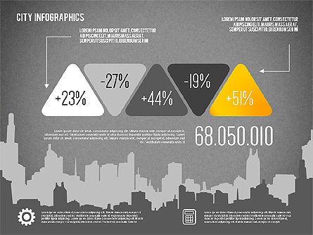 City Presentation Infographics, Slide 15, 01868, Presentation Templates — PoweredTemplate.com