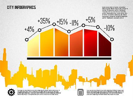 City Presentation Infographics, Slide 4, 01868, Presentation Templates — PoweredTemplate.com