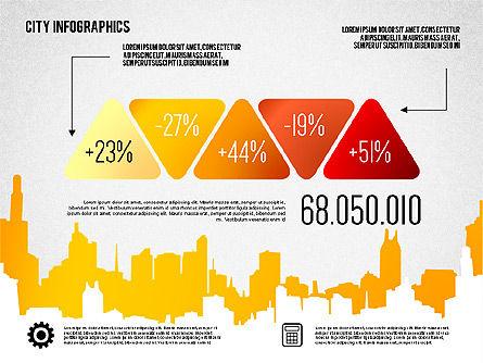 City Presentation Infographics, Slide 7, 01868, Presentation Templates — PoweredTemplate.com