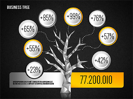 Business Tree Diagram Slide 16