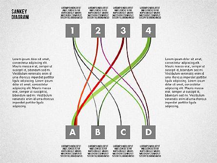 Sankey Diagram Toolbox, Slide 10, 01873, Process Diagrams — PoweredTemplate.com