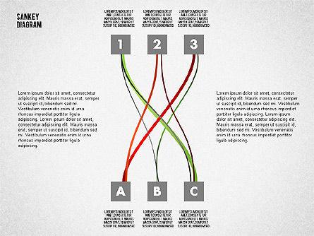 Sankey Diagram Toolbox, Slide 11, 01873, Process Diagrams — PoweredTemplate.com