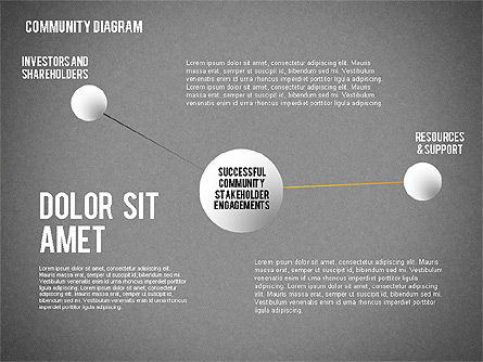 Successful Stakeholder Engagement Diagram, Slide 13, 01883, Process Diagrams — PoweredTemplate.com