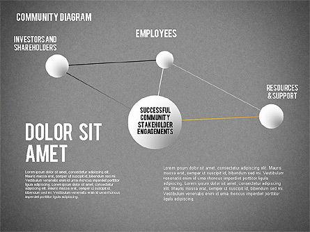 Successful Stakeholder Engagement Diagram, Slide 14, 01883, Process Diagrams — PoweredTemplate.com