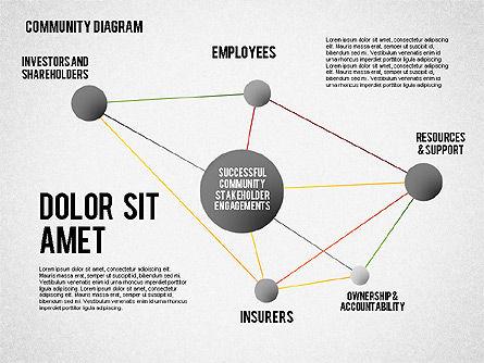 Successful Stakeholder Engagement Diagram, Slide 5, 01883, Process Diagrams — PoweredTemplate.com