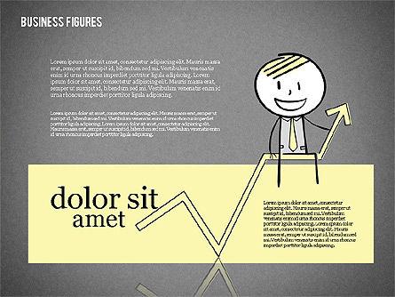 Character Colorful Illustrations, Slide 13, 01885, Shapes — PoweredTemplate.com