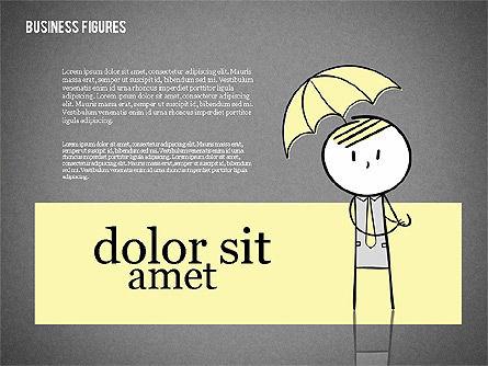 Character Colorful Illustrations, Slide 15, 01885, Shapes — PoweredTemplate.com
