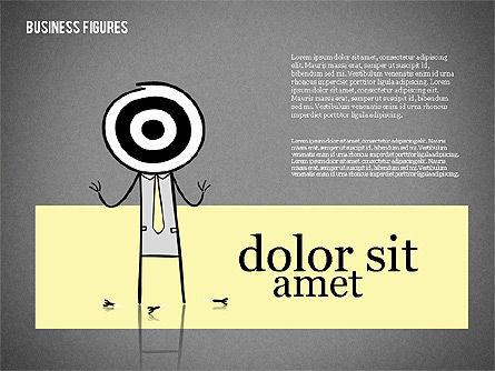 Character Colorful Illustrations, Slide 16, 01885, Shapes — PoweredTemplate.com