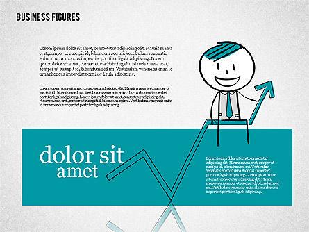 Character Colorful Illustrations, Slide 5, 01885, Shapes — PoweredTemplate.com