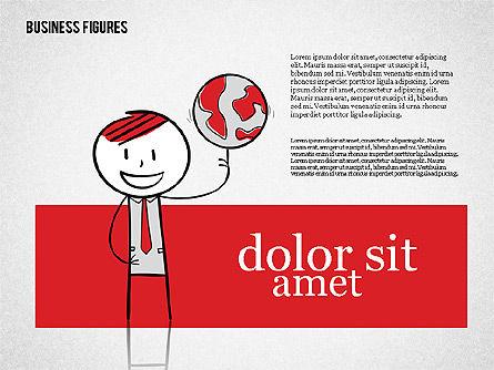 Character Colorful Illustrations, Slide 6, 01885, Shapes — PoweredTemplate.com