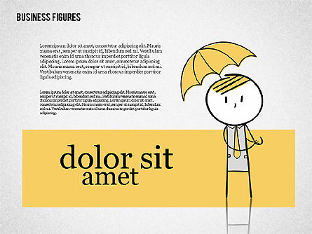 Character Colorful Illustrations, Slide 7, 01885, Shapes — PoweredTemplate.com