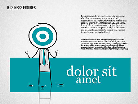 Character Colorful Illustrations, Slide 8, 01885, Shapes — PoweredTemplate.com