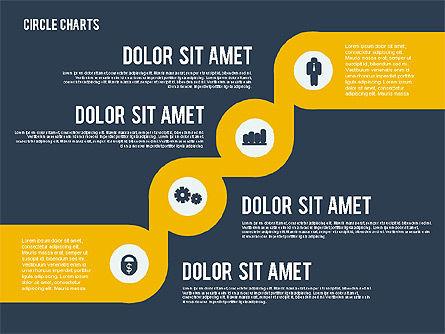 Presentation with Circles, Slide 12, 01886, Business Models — PoweredTemplate.com