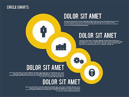 Presentation with Circles, Slide 16, 01886, Business Models — PoweredTemplate.com