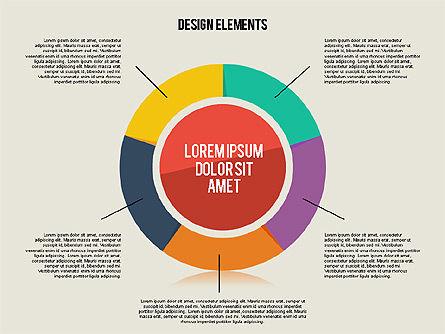 Flat Design Shapes Toolbox, Slide 2, 01889, Shapes — PoweredTemplate.com