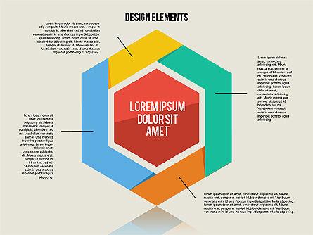 Flat Design Shapes Toolbox, Slide 3, 01889, Shapes — PoweredTemplate.com