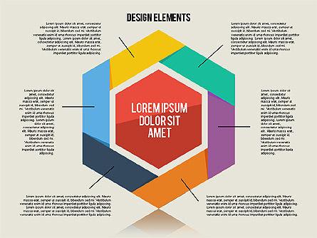 Flat Design Shapes Toolbox, Slide 4, 01889, Shapes — PoweredTemplate.com