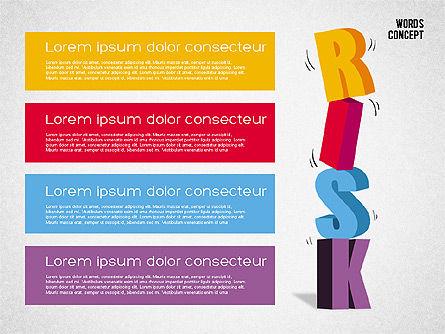 Words Concept Diagram, Slide 3, 01890, Business Models — PoweredTemplate.com