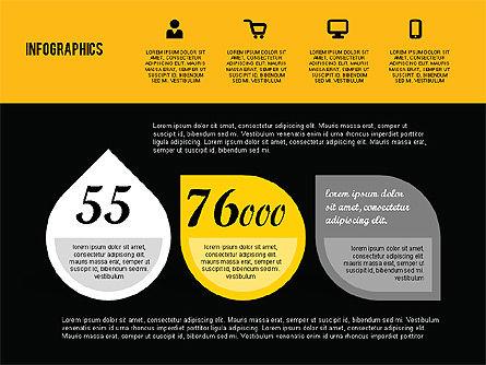 Flat Design Infographics, Slide 10, 01893, Business Models — PoweredTemplate.com
