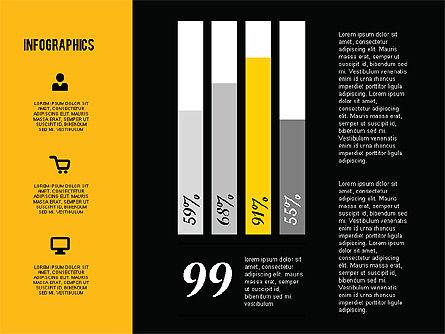 Flat Design Infographics, Slide 11, 01893, Business Models — PoweredTemplate.com
