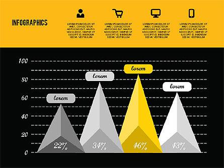 Flat Design Infographics, Slide 12, 01893, Business Models — PoweredTemplate.com