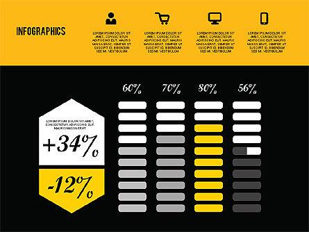 Flat Design Infographics, Slide 13, 01893, Business Models — PoweredTemplate.com