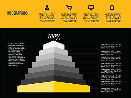 Flat Design Infographics, Slide 14, 01893, Business Models — PoweredTemplate.com