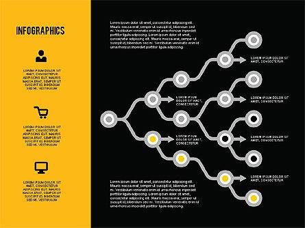 Flat Design Infographics, Slide 16, 01893, Business Models — PoweredTemplate.com