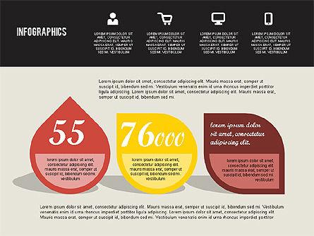 Flat Design Infographics, Slide 2, 01893, Business Models — PoweredTemplate.com
