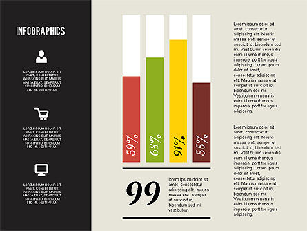Flat Design Infographics, Slide 3, 01893, Business Models — PoweredTemplate.com