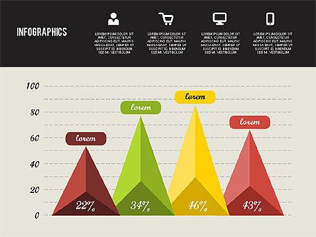 Flat Design Infographics, Slide 4, 01893, Business Models — PoweredTemplate.com