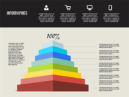 Flat Design Infographics, Slide 6, 01893, Business Models — PoweredTemplate.com