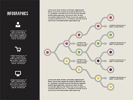 Flat Design Infographics, Slide 8, 01893, Business Models — PoweredTemplate.com