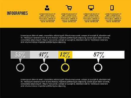 Flat Design Infographics, Slide 9, 01893, Business Models — PoweredTemplate.com