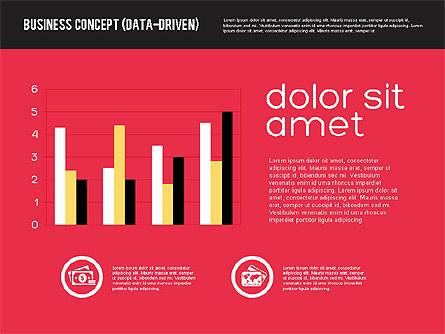 Presentation Concept in Flat Design, Slide 2, 01894, Presentation Templates — PoweredTemplate.com
