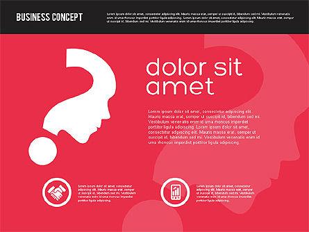 Presentation Concept in Flat Design, Slide 3, 01894, Presentation Templates — PoweredTemplate.com